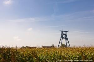 Chevalement de la fosse n°9 à Roost-Warendin
