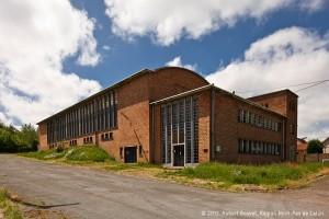 Salle des Bains-douches de la fosse n°7 à Barlin (années 1950). © 2012, Hubert Bouvet, Région Nord-Pas de Calais