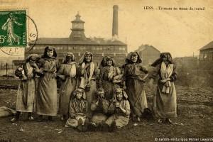 Trieuses à Lens dans les années 1920