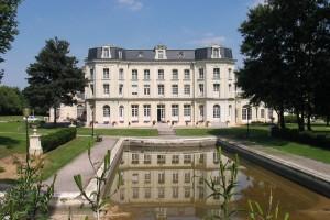 Le château Mercier, ancienne demeure du directeur de la Compagnie des Mines de Béthune