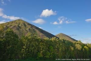 Parmi les plus hauts d'Europe, les terrils jumeaux de la fosse 11-19 à Loos-en-Gohelle