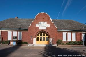 Ecole des filles de la cité Nouméa à Rouvroy. Compagnie des mines de Vicoigne-Noeux-Drocourt