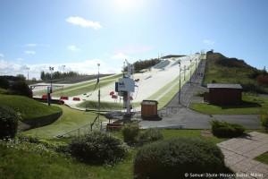 Terril N°42. Piste de Ski de Loisinord et Plan d'eau. Noeux-les-Mines