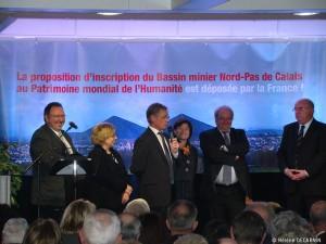 Le dossier de candidature est déposé par la France. Février 2010.