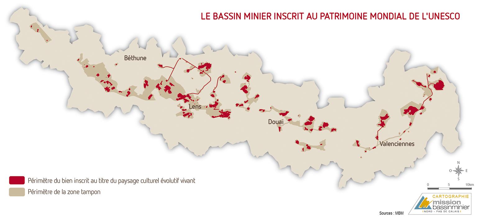 Le Bassin Minier inscrit au Patrimoine Mondial de l'UNESCO