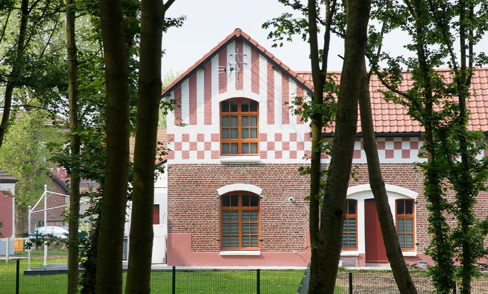 Cité Bruno ancienne à Dourges © Jean-Michel ANDRE-Mission Bassin Minier.